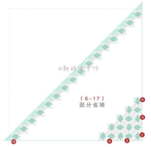 Ажурная шаль спицами мотивами листья (7)