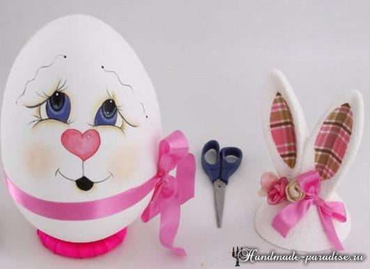 Декоративные пасхальные яйца из пенопласта (13)