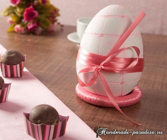 Декоративные пасхальные яйца из пенопласта (2)