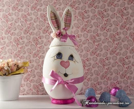 Декоративные пасхальные яйца из пенопласта (7)