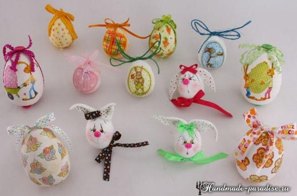 Декоративные пасхальные яйца из пенопласта (9)