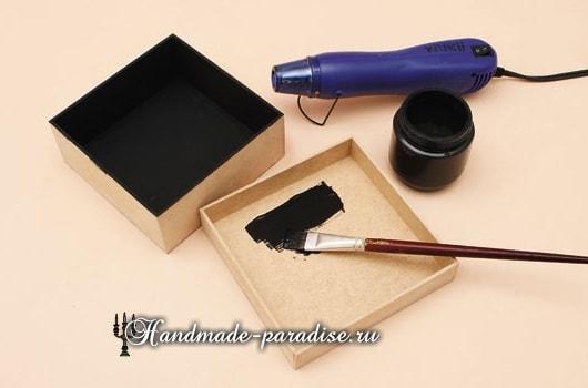 Декупаж и роспись коробок для подарка (10)