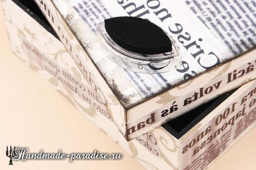 Декупаж и роспись коробок для подарка (12)