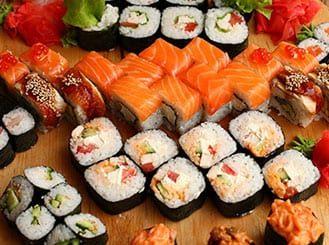 Где покушать суши в Пушкино