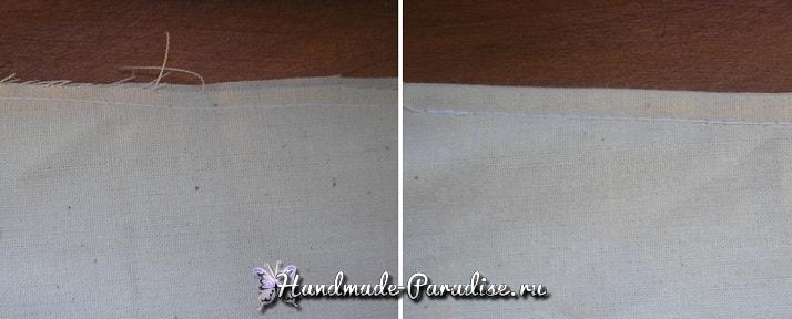 Как сшить салфетку - вкладыш для корзинки (10)