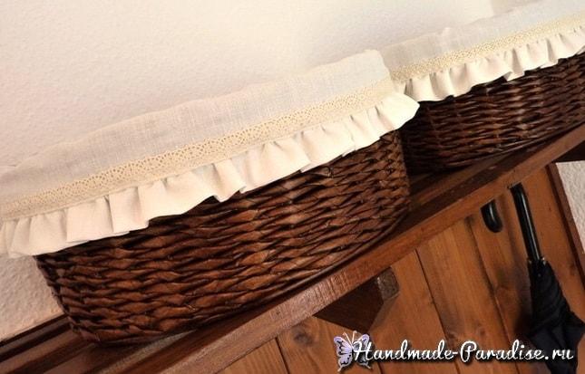 Как сшить салфетку для хлебницы