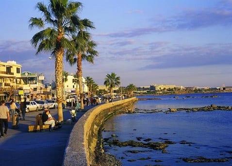 Лазурное море Кипра. Розовые берега (2)