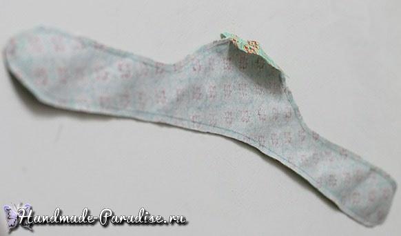 Мягкая вешалка для одежды своими руками (2)
