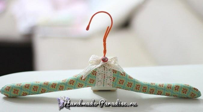 Мягкая вешалка для одежды своими руками (4)