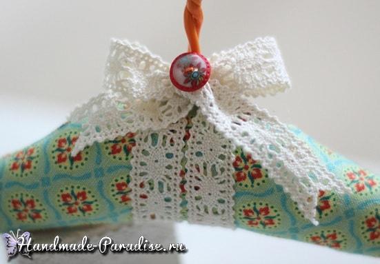 Мягкая вешалка для одежды своими руками (5)