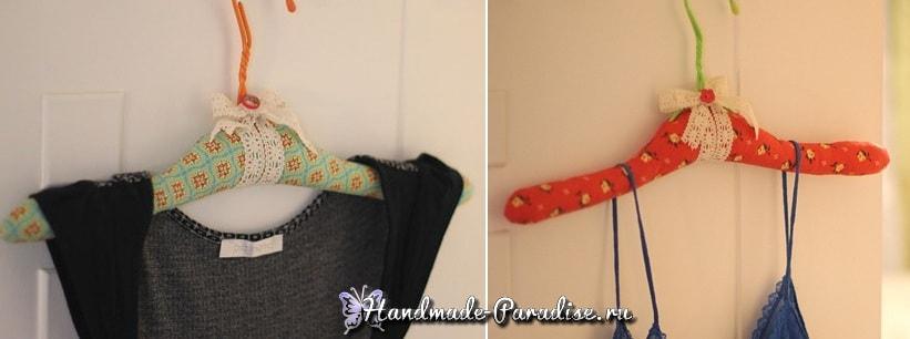 Мягкая вешалка для одежды своими руками (6)