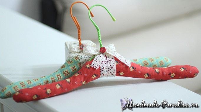 Мягкая вешалка для одежды своими руками (7)