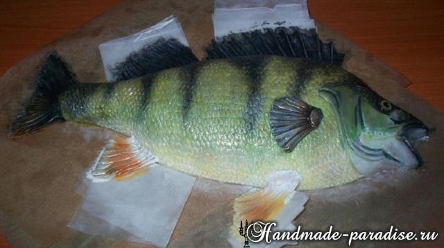 Самый-самый рыбный торт. Подарок для мужчины (10)