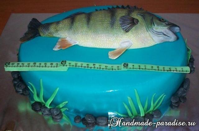 Самый-самый рыбный торт. Подарок для мужчины (12)