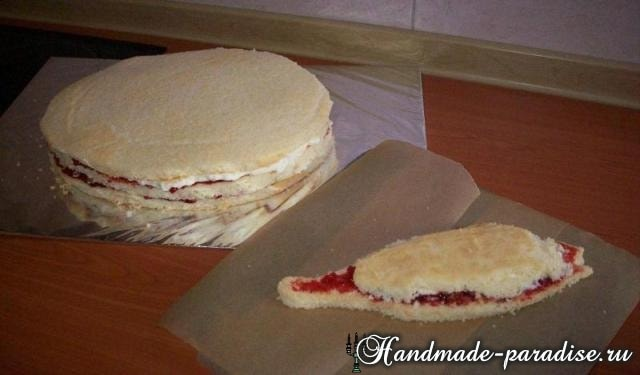 Самый-самый рыбный торт. Подарок для мужчины (2)