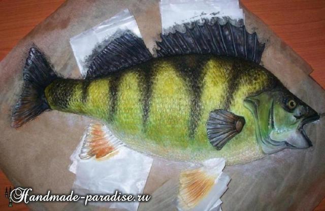 Самый-самый рыбный торт. Подарок для мужчины (9)