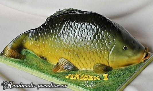 Самый-самый рыбный торт. Подарок для мужчины