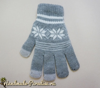 Слоник из перчаток. Мастер-класс (2)