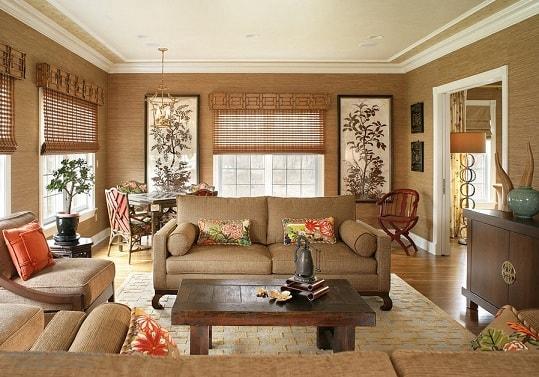 Бамбуковые обои как креативный способ оформления домашнего интерьера
