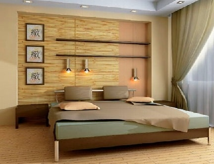 Бамбуковые обои как креативный способ оформления домашнего интерьера (2)