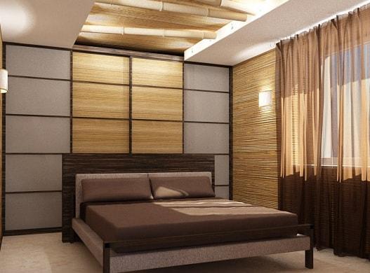Бамбуковые обои как креативный способ оформления домашнего интерьера (3)