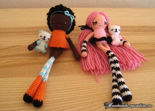 Длинноногие куколки амигуруми от Wendy de Boer (4)