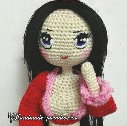 Как вышить глазки куколке амигуруми (7)