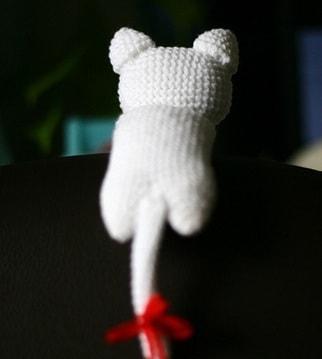 Котенок амигуруми. Игрушка крючком (2)
