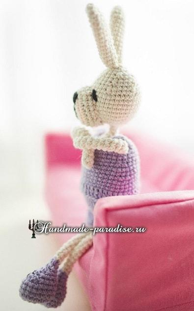 Кролики с характером. Вязание амигуруми (13)
