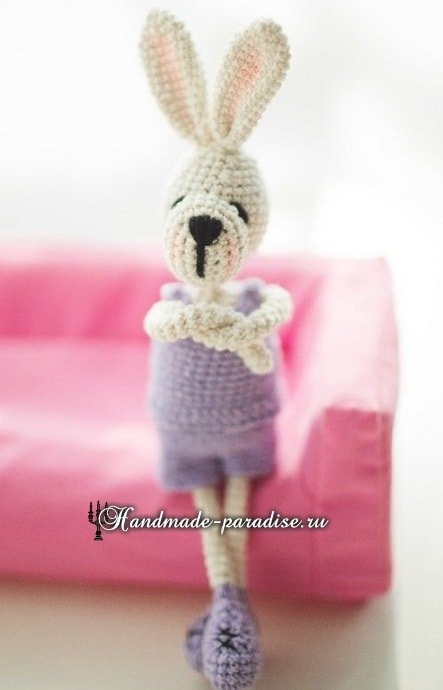 Кролики с характером. Вязание амигуруми (14)