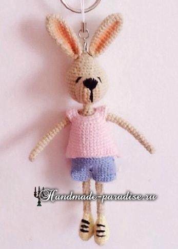 Кролики с характером. Вязание игрушек амигуруми (6)