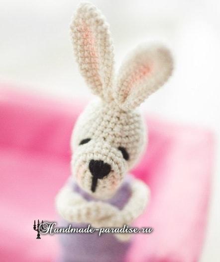 Кролики с характером. Вязание игрушек амигуруми (7)