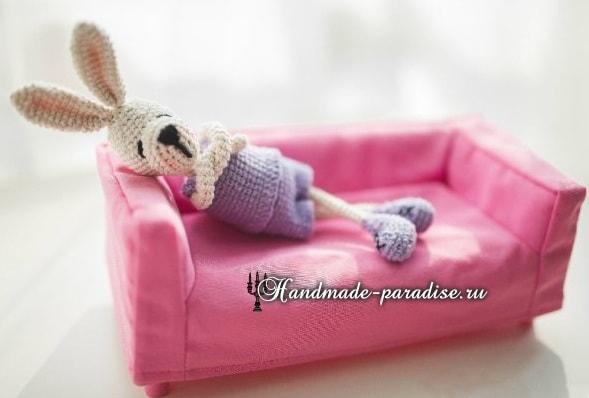 Кролики с характером. Вязание игрушек амигуруми (8)
