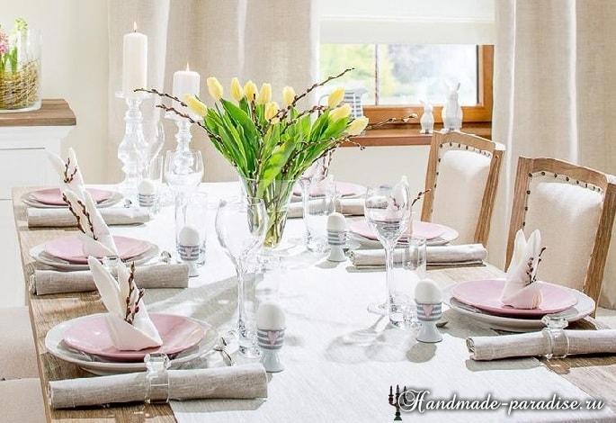 Сервировка стола к Пасхе (2)