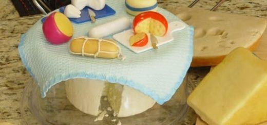 Сыроделие из холодного фарфора для украшения кухни