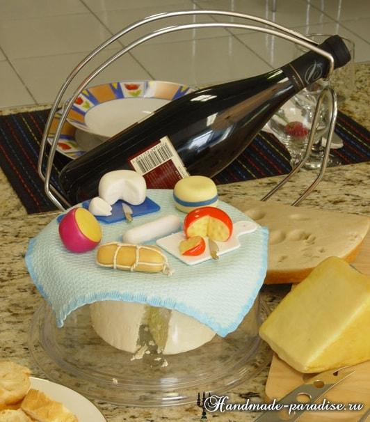Сыроделие из холодного фарфора для украшения кухни (14)
