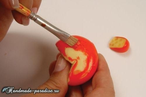 Сыроделие из холодного фарфора для украшения кухни (7)