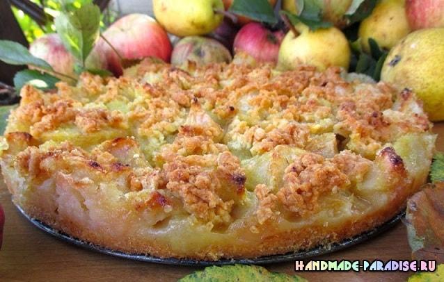 Торт. Яблочно-грушевая лакомка