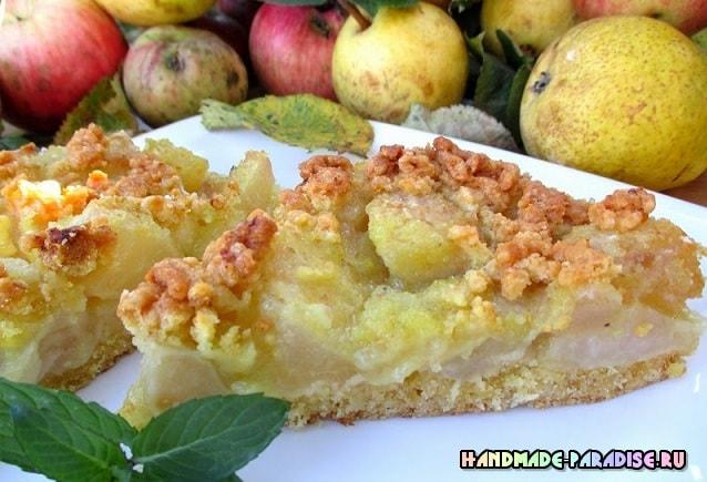 Торт. Яблочно-грушевая лакомка (3)