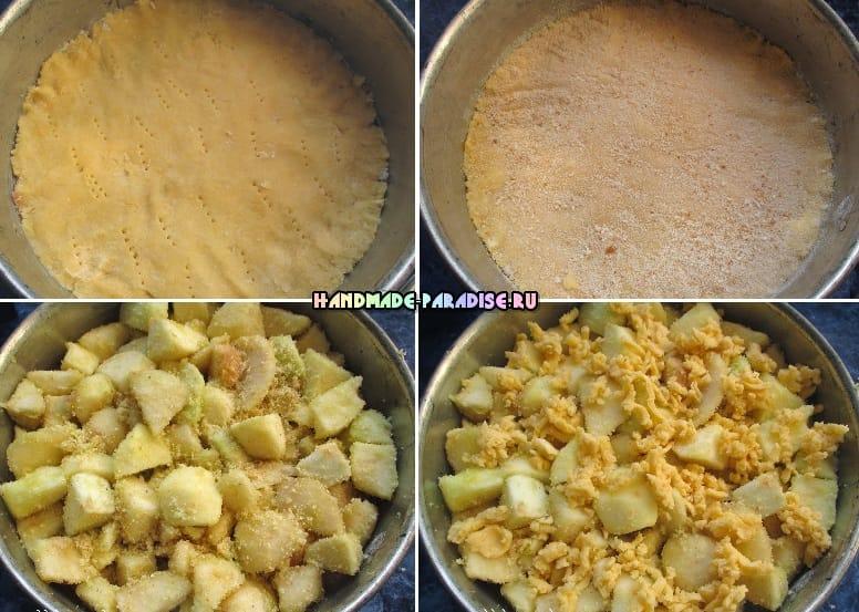Торт. Яблочно-грушевая лакомка (4)