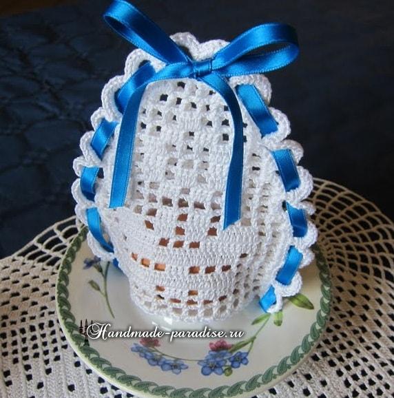 Вязаные колпачки для пасхальных яиц (2)