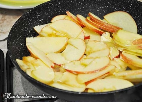 Яблочные розы из слоеного теста (11)