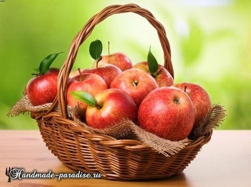 Яблочные розы из слоеного теста (2)