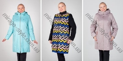 Женская верхняя одежда больших размеров Mirage Style (3)