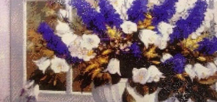 Алмазная вышивка - набирающий популярность вид рукоделия