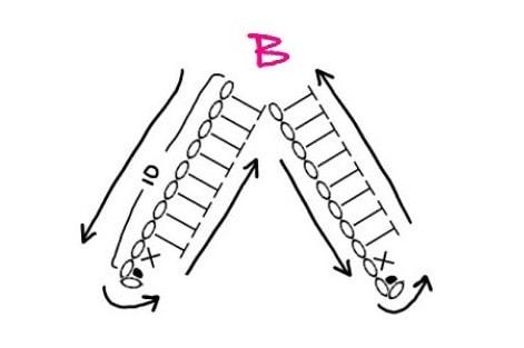 Бантики крючком для куколок амигуруми (9)