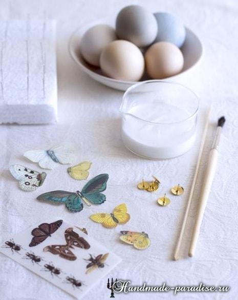 Декупаж пасхальных яиц своими руками (11)