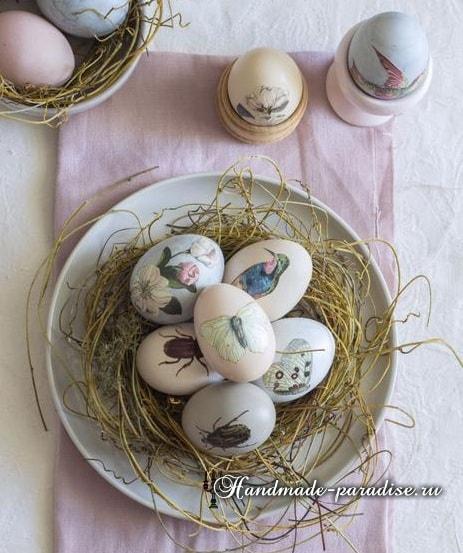 Декупаж пасхальных яиц своими руками (15)