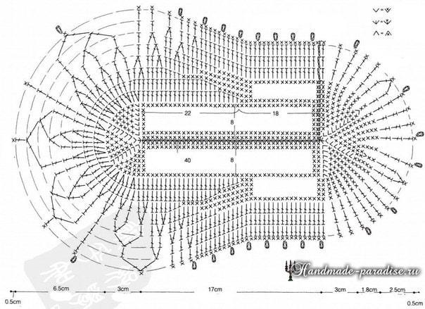 Гортензия на тапочках. Вязание крючком (11)