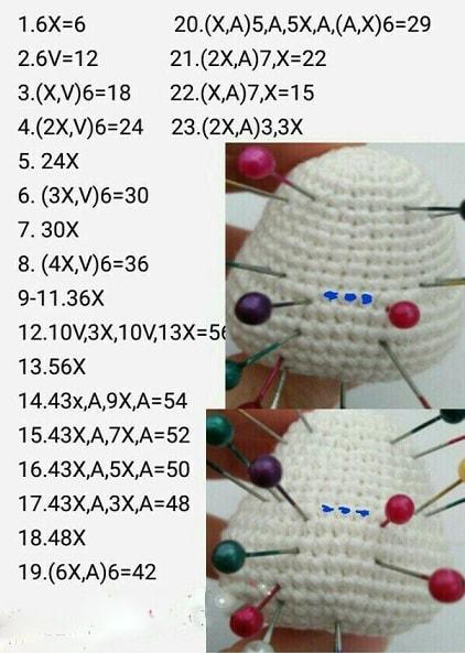 КОТЕНОК крючком - вязание амигуруми (2)